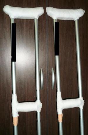 松葉杖をアップグレード