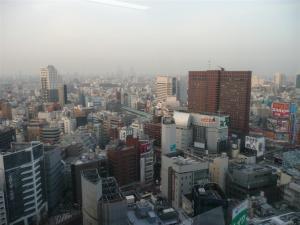 新宿エルタワー23階から眺めた景色