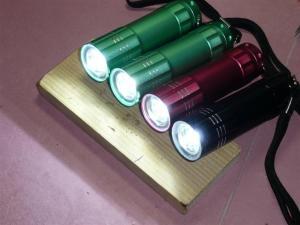 3灯ランチャーライトを超高輝度改造