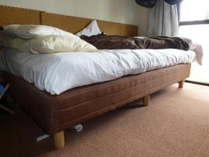 ポケットコイルのベッドは快適