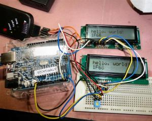 秋月I2C LCDをリカバリするファーム公開