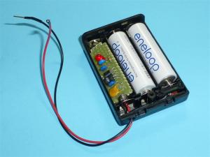 乾電池2本で3.3Vの安定した実験用電源製作