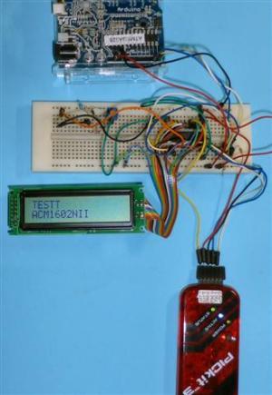 I2C LCD ACM1602NI用ストリナファームで動かないのがあった