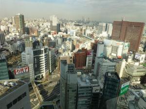 新宿エルタワービル23階からの眺め