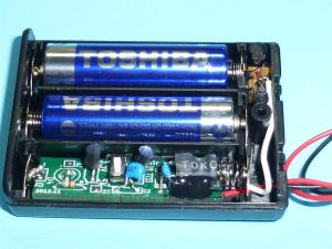 「乾電池式定電圧電源」完売