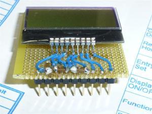 秋月の超小型LCDを動作させてみる