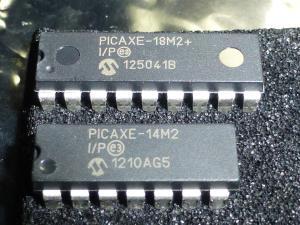 PICAXEは簡単に動かせられるマイコンだ