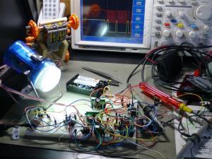 PICでDCモータを駆動実験