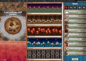 クッキークリッカーゲーム