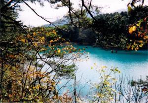 五色沼(1998・11撮影)