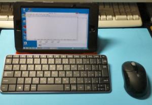マイクロソフトウェッジモバイルキーボード