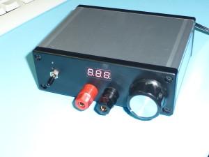 実験用安定化電源の製作