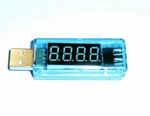 格安USB 簡易電圧・電流チェッカーをamazonでかってみた
