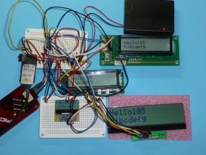 秋月I2C LCD ACM1602NI用互換プログラム(秋月・ストリナ)バグ修正