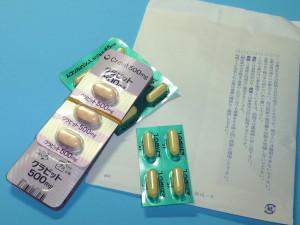 抗生物質と喀痰剤