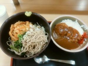 JR新宿(小田急線側)「箱根そば・本陣」本陣セット