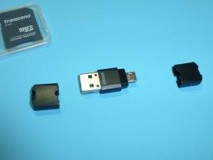 マイクロSD専用のカードリーダiBUFFALO BSCRUM04がタブレットPCに便利