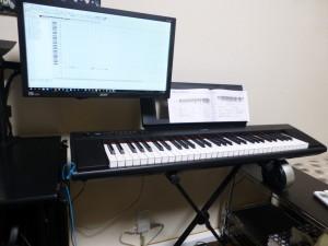 YAMAHA 電子ピアノNP-12分解