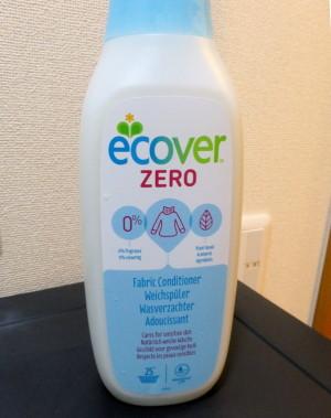 もっと自然な柔軟仕上げ剤「ECOVER ZERO」「ランドリーリキッド」
