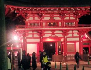 井草八幡宮門