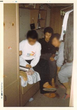 1985年寮でシャープX1 を囲みながら