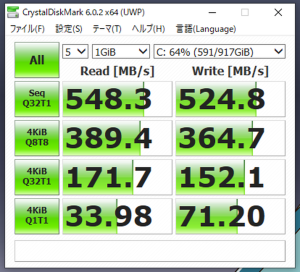 デスクトップPCをSSD化→爆速