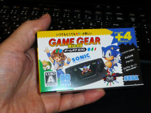 SEGA Game Gear microを買ってみた