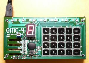 USB付学研の大人の科学Vol.24 4ビットマイコン(GMC-4)